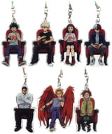 Set of 7 Kinds 「 MY HERO ACADEMIA THE MOVIE WORLD HEROES MISSION CHARM COLLECTION 」 THEATER GOODS
