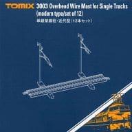 Single-Track Overhead Pole, Modern (12) [3003]