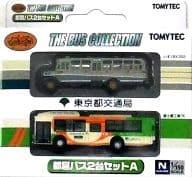 1/150 东京都经营公交车 2 台组合 A 「座.公交车收藏」 [229629]