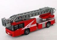 1/150 Nihon Kikai Kogyo Fire Engine Sky Action Ladder (Red / Door Window Frame Black) 「 The Track Collection 4 th 」 Display Model