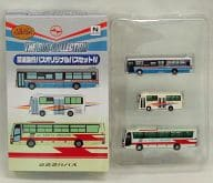 "1/150 Keihin Express Bus Original Bus Set IV (3 sets) ""The Bus Collection"""