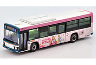 1/150 Keisei Bus Rika's Favorite City Wrapping Bus Pink 「 The Bus Collection 」 [289272]