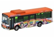 """1/150 Tokai Bus Orange Shuttle Love Live! Sunshine !! Wrapping Bus No.2 """"The Bus Collection"""" [292210]"""