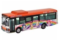 "1/80 JH 032 Tokai Bus Orange Shuttle Love Live! Sunshine !! Wrapping Bus 2nd Car ""The Bus Collection 80"" [292197]"