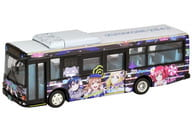 "1/150 Izu Hakone Bus Love Live! Sunshine !! Wrapping Bus 3rd Car ""The Bus Collection"" [300748]"