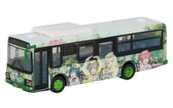 1/80 JH040 Nationwide bus 80 Izuhakone bus Love Live! Sunshine! Wrapping bus #4 [311171]