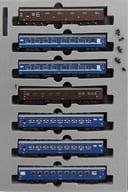[Translation] 1/150 10 express train sleeping car 「 Aki 」 (1967) 7 car set [10-1302]