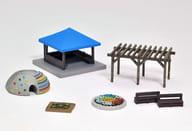 1/150 Ekimae Koen C4 「 Geo Kore Scene Collection Scene Accessories 014-4 」 [313755]