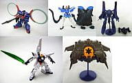 Set of 5 Kinds 「 Gashapon EX HG Series Gundam Mechanical Selection 7 」