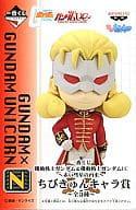 Full Frontal Mini Character Award, N Ichiban KUJI 「 Mobile Suit Gundam & MOBILE SUIT GUNDAM UC ~ the return of a Red Comet ~ 」