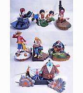 All 6 types set + bonus parts set ONE PIECE LOGBOX War embers and new journey
