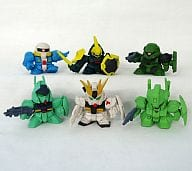 Set of 6 Types 「 SD Gundam Full Color Stage 15 」