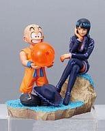 "Robin & Kuririn / full color ""DRAGON BALL Capsule Neo with One Piece"""