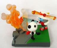 """3. Fire Bear Fire Fighting Activity (Full Color Version) """"Pander Z Mini Figure Collection 03-Pan Talon and Friends-"""""""