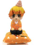 Agatsuma Zenitsu 「 LITTLE INNOVATIVE TOYS Kimetsu-no Yaiba Trading Sofvi Figure 」