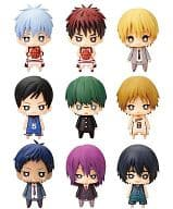 "All 9 sets ""One Coin Mini Figure Collection Kuroko no Bashke 3rd Quarter"""