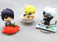 "All three kinds of sets ""Petit Chara Rand NARUTO - Naruto - Shippuden Delicious Stuff I'd Betheless! J - WORLD Limited Edition"""