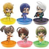 """All 6 types set """"Puchikyara! Series Space Battleship Yamato2199 Petit Yamato Girls!"""""""