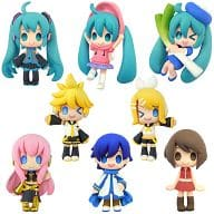 "All eight set """" Color Collection Hatsune Miku """