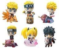 Set of 6 Kinds 「 Puchikyara Land Naruto - Naruto - Shippuden Whirlpool Naruto Special! 」