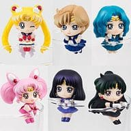 "All 6 types set ""Ochatomo Series Sailor Moon Cosmic Heart Cafe"""