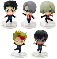 "All five sets ""Yuri !!! on ICE Collection Figure"""