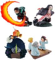 4-Variety Set 「 Petit Rama Series Demon Slayer: Kimetsu no Yaiba Scene 乃箱 Sonoichi no Hen 」
