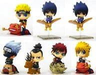 Set of 7 Kinds 「 Petit Gara Land NARUTO - Naruto Uzumaki - Shippuden Shinshoku! Kuchiyose Jutsu! 」