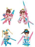 All 4 Types Set 「 Desktop Army Megami Devices Shura Series (Ouki, 蒼衣) 」