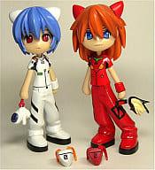 "Ayanami Rei & Soryu · Asuka · Langley Pinky: cos PC001 ""Pinky Street × Neon Genesis Evangelion"""