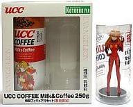 Shikinami / Aska / Langley UCC COFFEE Milk & Coffee 250g Special Figure Set (Blu-Ray & DVD Release Memorial) 「 Evangelion New Theater Version : Ha 」