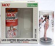 Mari Illustrious Makinami UCC COFFEE Milk & Coffee 250g Special Figure Set (Blu-Ray & DVD Release Memorial) 「 Evangelion New Theater Version : Ha 」