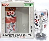 Rei Ayanami UCC COFFEE Milk & Coffee 250g Special Figure Set (Blu-Ray & DVD Release Memorial) 「 Evangelion New Theater Version : Ha 」