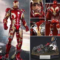 "Iron Man Mark 43 ""Avengers / Age of Ultron"" Movie Masterpiece DIECAST 1/6 Action Figure"