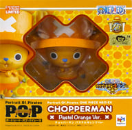 "Chopperman Pastel Orange Ver. ""One Piece"" Excellent Model LIMITED Portrait.Of.Pirates Nagasaki Huis Ten Bosch Limited"
