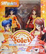 S. H. Figuarts Aoi Kiriya, Ran Shibuki (Soleil ver.) set 「 Aikatsu! 」 Tama web shop limited