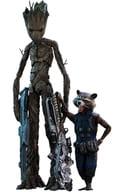 Groot & Rockett 「 Avengers / Infinity War 」 Movie Masterpiece 1/6 Action Figure