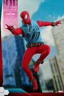 Spider-Man (Scarlet Spider Suit Edition) 「 Marvel's Spider-Man 」 Video Game / Masterpiece 1/6 Action Figure Spider-Man Exclusive Store Japan Tour only