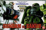 1/144 hg RX-79 Land Fighting Gundam vs. MS-06J Zaku II (2 Item Set) 「 MOBILE SUIT GUNDAM: THE 08th MS TEAM 」 [0052672]