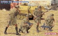 1/35 British eighth Army Infantry El Alamein 1942 (4 piece set) 「' 39 -' 45 SERIES 」 [6390]