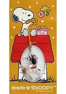 Snoopy strap (sitting pose) 「 Mister Donut x Snoopy 2012 Misudo Fukubukuro / Fukubako 」