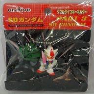 Gundam vs. MA-08 Byg-Zam Double Type Key Holder PART3 「 SD Gundam 」