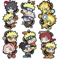 "All six sets ""Rubber Mascot Naruto - Shippuden Rubber Mascot You Must have Two Mansell!"""