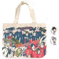 """Collective Special Tote Bag Set Kyun Kyara Inuyutetsu Shosuzu """"The Lottery High Cue !! - Let's Go To Tokyo !!"""" Last One Prize"""