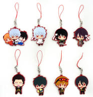 Gintama Capsule Rubber Mascot <AGF Limited Color ver. Set> Premium Bandai Limited