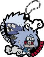 """Sasuke + Kakashi """"Rubber Mascot Naruto Shippuden Sasuke Special!"""""""