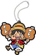 "Monkey D Luffy ""Rubber Mascot Mogumomu One Piece Umee Mon Ha Umee!"""