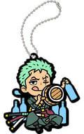 "Roronoa ・ Zoro \ """" Rubber Mascot Mogumogu ONE PIECE Umeemon Haumee! """""