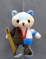 """Gintoku Bear Ball Chain Mascot """"Gintama"""" Jump COSTANZO FESTA 2017 Collectible"""