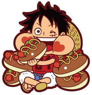 "Monkey D Luffy ""Rubber Mascot Mogu Momo One Piece Sanji's Kitchen-Brunch-"""